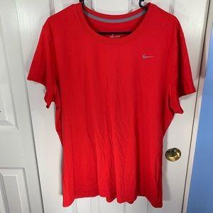 Nike Men's Dri Fit Short Sleeve Shirt
